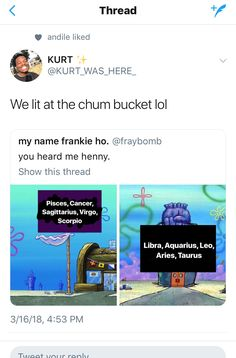 We poppin at the krusty krab
