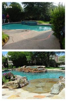 Adding a stunning beach entry can completely bring your outdoor entertaining area up to date. Adding a stunning beach entry can completely bring your outdoor entertaining area up to date. Walk In Pool, My Pool, Pool Remodel, Backyard Paradise, Modern Backyard, Beautiful Pools, Dream Pools, Cool Pools, Pool Landscaping