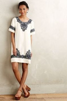San & Soni Loka Tunic Dress #anthrofave