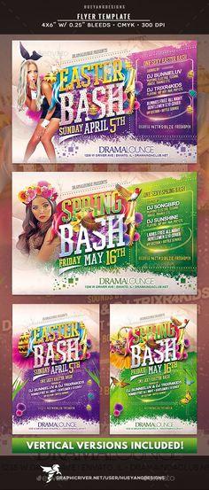 Easter Flyer Pinterest Event flyers, Fonts and Font logo