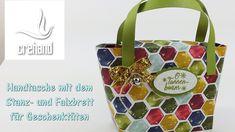 Weihnachtliche Handtasche mit dem PunchBoard Gift Bag von Stampin' Up!