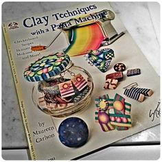 Polymer Clay Book Review ClayTechniques by Maureen Carlson on KatersAcres Clay Blog