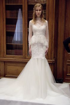 Pin for Later: 100+ Must-See Wedding Dresses From Bridal Fashion Week Autumn 2015 Marchesa Bridal Autumn 2015