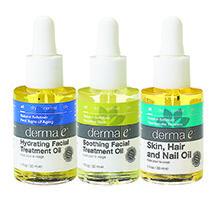 Derma e Oils | Natural Skincare | Launches We Love | Organic Spa Magazine
