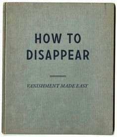 disappering act