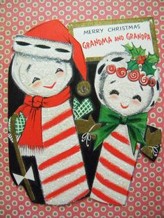 Definitely one of the cutest Christmas cards Ive seen! This Hallmark card  is signed inside 1428543c7eb1