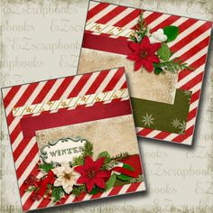 Items similar to Winter NPM - Christmas - 2 Premade Scrapbook Pages - EZ Layout 3529 on Etsy Scrapbook Disney, Paper Bag Scrapbook, Christmas Scrapbook Layouts, Birthday Scrapbook, Scrapbook Supplies, Scrapbooking Layouts, Scrapbook Cards, Wedding Scrapbook, Couple Scrapbook