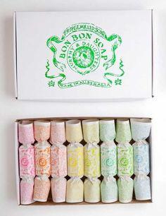 Coffret de 4 savons Bon Bon Soap, Murphy & Daughters