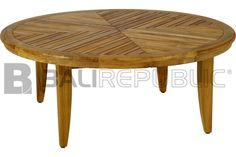 SANUR Round Outdoor Coffee Table from BALI REPUBLIC