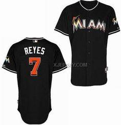 http://www.xjersey.com/miami-marlins-7-reyes-black-cool-base-jerseys.html MIAMI MARLINS 7 REYES BLACK COOL BASE JERSEYS Only $34.00 , Free Shipping!