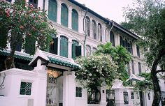 singapore and the beautiful peranakan houses and shophouses. A delight to paint in watercolors