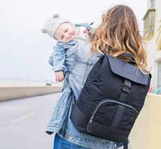 The ingenious Paperclip backpack nappy bag comes with a built-in change station so you're always ready for when it's time for nappy change, no matter where you are. Changing Station, Changing Bag, Nappy Change, Grey Trim, Diaper Bag Backpack, Baby Boy Rooms, Baby Room, Baby Safe, Mom And Dad