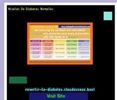 Niveles De Diabetes Normales 170818 - Aprenda como vencer la diabetes y recuperar su salud.