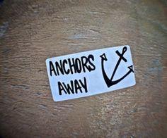 drop anchor...