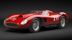 Ferrari 625 TRC Spider 1957 out for auction at 6.4 million dollars. Only two were produced.