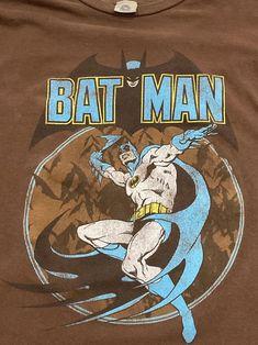 Batman DC Comics Originals T Shirt / Superhero Comic Book   Etsy Batman Shirt, Batman Logo, Vintage Band T Shirts, Comic Book Superheroes, Black Fabric, Dc Comics, Lanterns, Vintage Outfits, Vintage Graphic