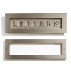 Antique Letters Decorative Mail Slot   Slot Etsy And On
