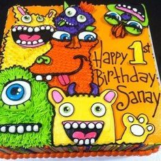 Monster sheet cake -- awesome!