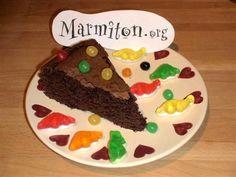 Gâteau au chocolat des écoliers : Recette de Gâteau au chocolat des écoliers…