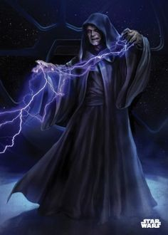 emperor palpatine darth sidious sith force lightning star wars lucas