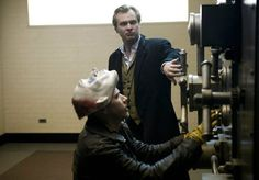 Behind the scenes Christopher nolan and Bank Robber