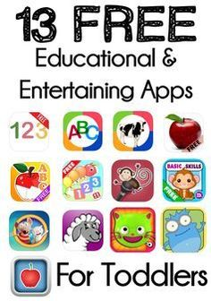 13 of the Best Free Educational And Entertaining Apps For Toddlers