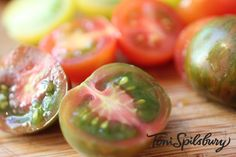 Best recipe to make with heirloom tomatoes