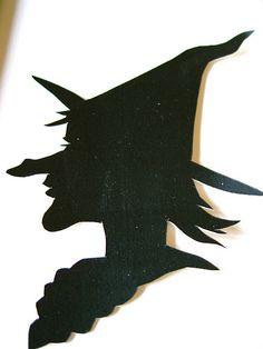 Elder Witch Silhouette | Flickr - Photo Sharing! (480 x 640)