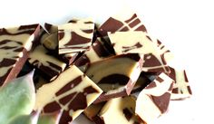 Marmorert sjokoladeharmoni