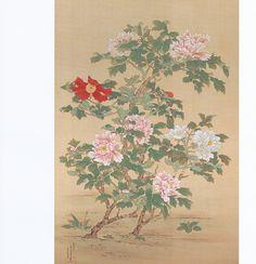 鈴木其一 Kiitsu Suzuki『牡丹図』