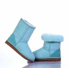 ugg boots 2013 for cheap! Classic Ugg Boots, Ugg Classic Mini, Ugg Classic Short, Casual Boots, Blue Uggs, Uggs On Sale, Ugg Boots Cheap, Aqua Blue, Jimmy Choo