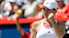 Rogers Cup: Simona Halep beats Madison Keys in Montreal final