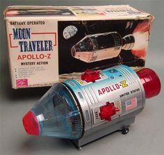 Nomura Moon Traveller Apollo Z Batt Op toy from 60s/ebay