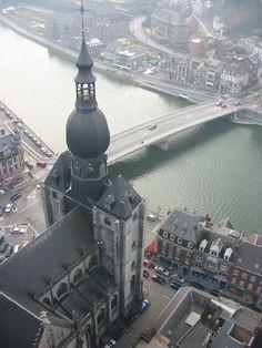 Dinant, Belgium, at the Meuse river