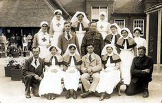 Nurses in WW1