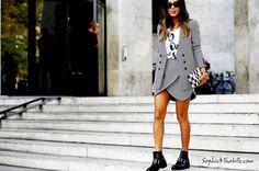 #aimeesong #songofstyle #skirt #beauty #women #paris  #pfw #fashionweek #ss15 #mbfw #fashion #style #look #outfit #streetfashion #streetstyle #mode #moda #street