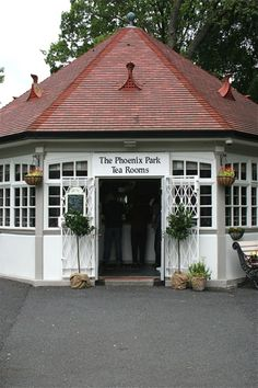The Phoenix Park Tea Rooms in Dublin are like something out of a fairytale
