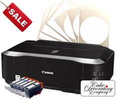 *A4 Edible Imaging Starter Kit Printer with Inks and Icing Sheets