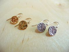 Still my birthday, so there's still a couple hours for 50% off!    Enter MYBIRTHDAY2 at checkout.    http://www.etsy.com/shop/MandyLemig    M O O N  Full Moon Earrings in Sterling Silver or by MandyLemig, $20.00