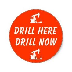 You are purchasing one pack of 20 Drill Here Drill Now stickers. Size of  the sticker is 1.5