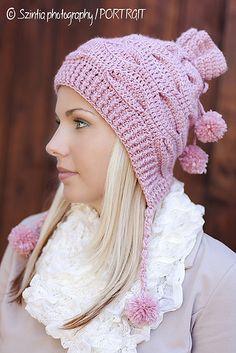 Ravelry: Zandra Hat Crochet Pattern pattern by Viktoria Gogolak