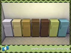 My Sims 4 Blog: Crisponix Adequate & Budget Refrigerator