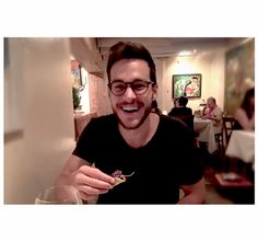 Chris Wood in a photo on Melissa Benoist's instagram.