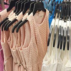 Summer style = fit + flare @elizajdresses #fitandflare #eyelet #dress #belted #blushpink #summerdress #elizaj #nordstrom @pixxyapp