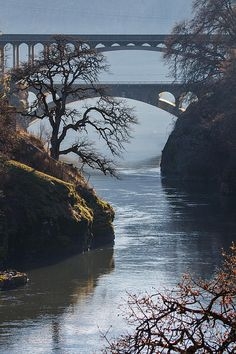 Title  Bridges Over The Klickitat   Artist  Angie Vogel   Medium  Photograph - Photography / Photograph