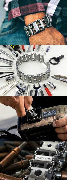 Leatherman Tread is a Wearable Multi-tool