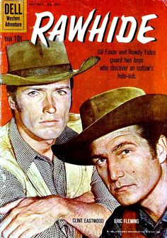 Clint Eastwood rawhide   Pencil Ink blog - vintage comic book art & artists - ratings & reviews ...