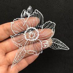Paper Art, Paper Crafts, Oriental, Geometric Drawing, Wood Carving Patterns, Underwater Creatures, Diy Chandelier, Create Words, All Flowers