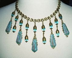 Vintage Egyptian revival 1920's necklace