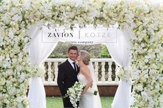 Wedding ceremony and floral arch to die for! This amazing white floral arch flower arch for a perfect bride. Luxe Wedding, Floral Wedding, Wedding Ceremony, Wedding Flowers, Wedding Dresses, Perfect Bride, Floral Arch, Event Company, Hair Designs
